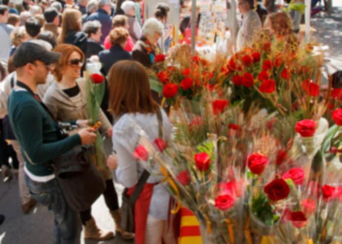 Majorista de rosas Sant Jordi 2017