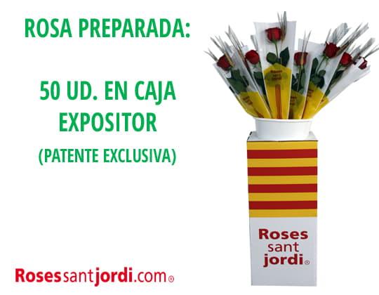 Rosas de Sant Jordi montadas
