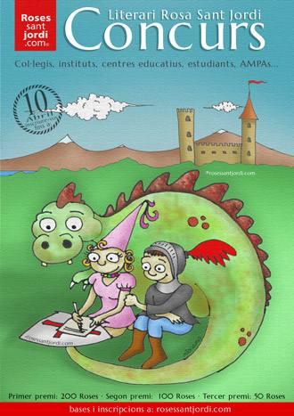 Concurso literario Sant Jordi