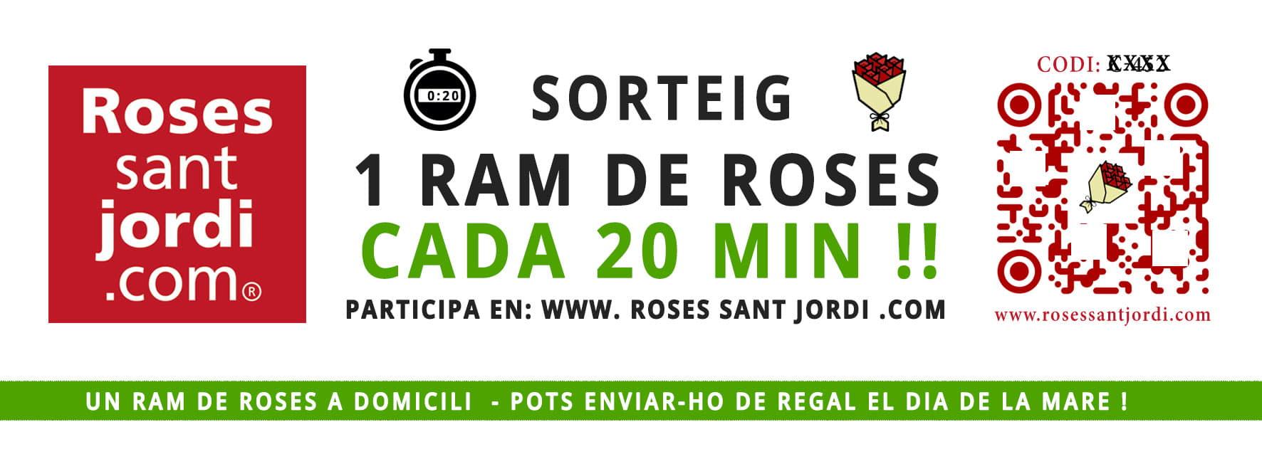 SORTEO RAMOS SANT JORDI