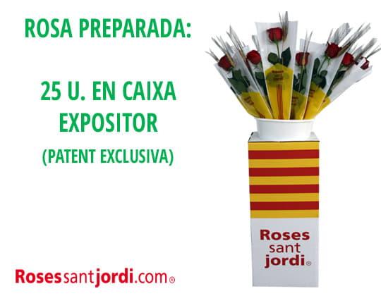 Roses de Sant Jordi preparades