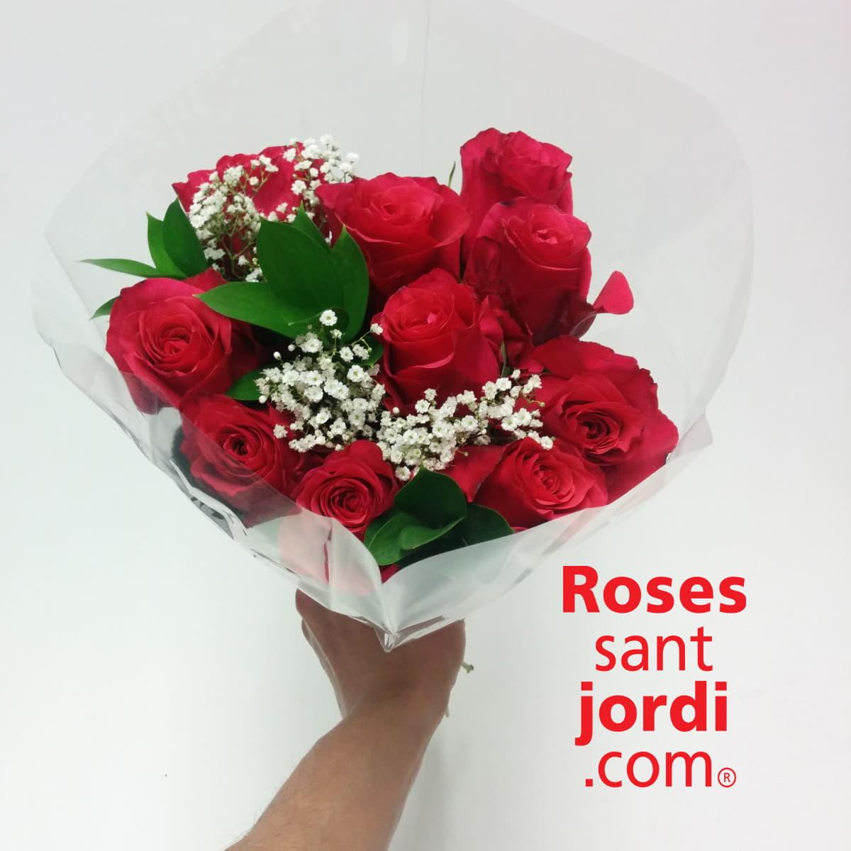 ramo rosas rojas madre