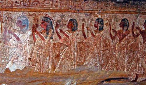 LA rosa en el Antiguo egipto